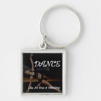 La danza como nadie está mirando llavero