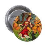 La danza de la bruja - vintage Halloween Pins