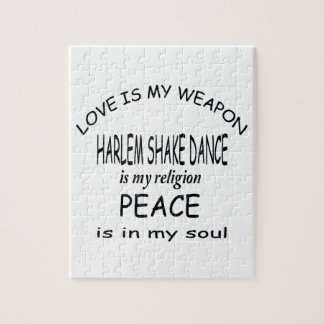 La danza de la sacudida de Harlem es mi religión Rompecabeza Con Fotos
