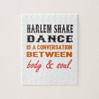 La danza de la sacudida de Harlem es una Rompecabezas Con Fotos