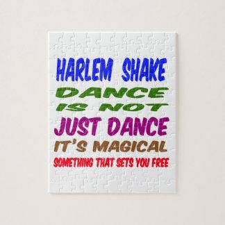 La danza de la sacudida de Harlem no es apenas Rompecabeza