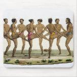 La danza de los isleños de Caroline, platea 22 del Alfombrillas De Ratón
