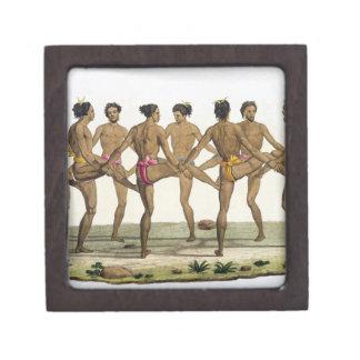 La danza de los isleños de Caroline, platea 22 del Caja De Regalo De Calidad