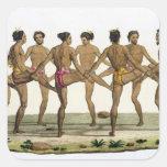 La danza de los isleños de Caroline, platea 22 del Pegatina Cuadrada
