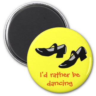 La danza de Mary Janes calza la identificación est Imán Redondo 5 Cm