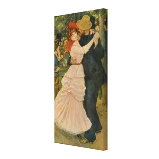 La danza de Pierre-Auguste Renoir en Bougival (188 Lienzo Envuelto Para Galerías
