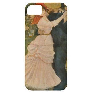 La danza de Pierre-Auguste Renoir en Bougival Funda Para iPhone SE/5/5s