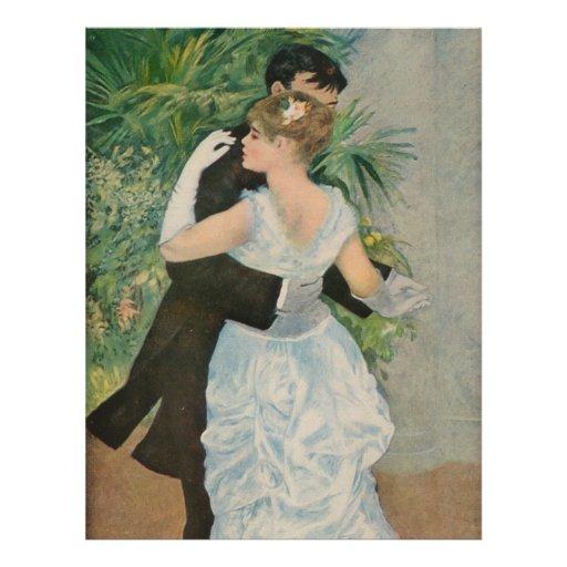 La danza de Pierre-Auguste Renoir en la ciudad (18 Tarjetones