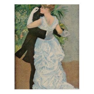 La danza de Pierre-Auguste Renoir en la ciudad (18 Postales