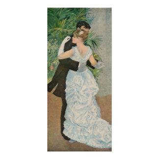 La danza de Pierre-Auguste Renoir en la ciudad (18 Plantillas De Lonas