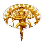 La danza de Shiva Figura Para Tarta
