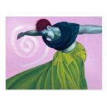 La danza de una mujer liberada… postal