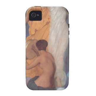 La danza de William-Adolphe Bouguereau iPhone 4/4S Fundas