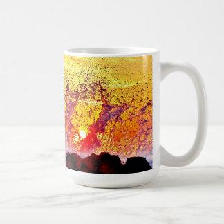 La danza del agua taza de café