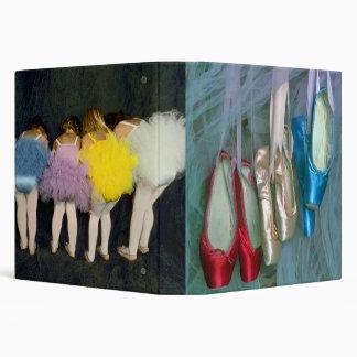 La danza del ballet calza la carpeta del recuerdo