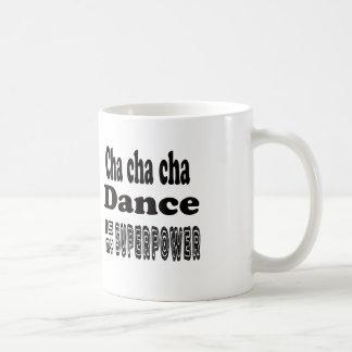 La danza del cha del cha de Cha es mi Tazas De Café