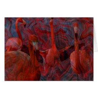 La danza del flamenco tarjeta de felicitación