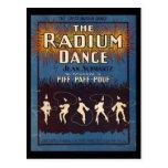 La danza del radio tarjeta postal