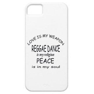 La danza del reggae es mi religión iPhone 5 fundas
