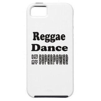 La danza del reggae es mi superpotencia iPhone 5 carcasa