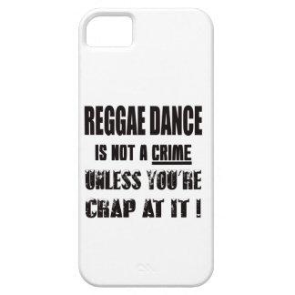 La danza del reggae no es un crimen iPhone 5 carcasas