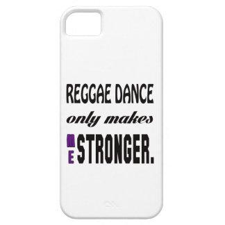 La danza del reggae solamente me hace más fuerte iPhone 5 carcasa