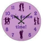 La danza del tiempo de la danza presenta el reloj