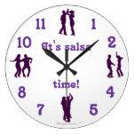 La danza del tiempo de la salsa presenta el reloj