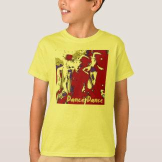 La danza embroma la camiseta