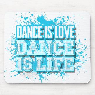 La danza es danza del amor es cojín de ratón vivo mouse pad