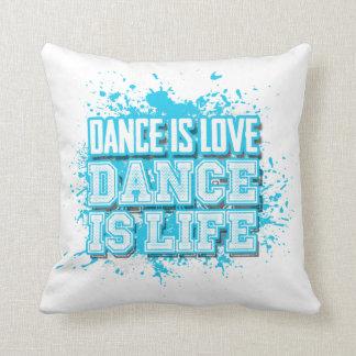 La danza es danza del amor es vida cojines