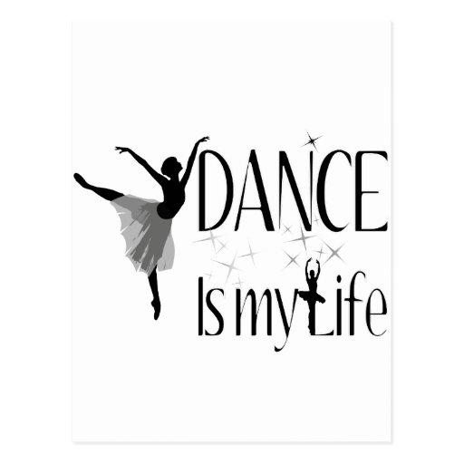 La danza es mi vida postales