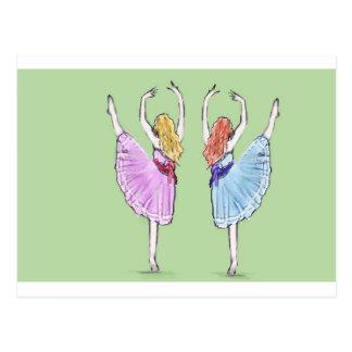 La danza es poesía en el movimiento postal