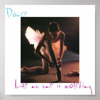La danza es vida poster