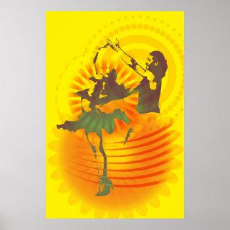 La danza hermosa poster