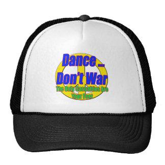 La danza no guerrea gorra