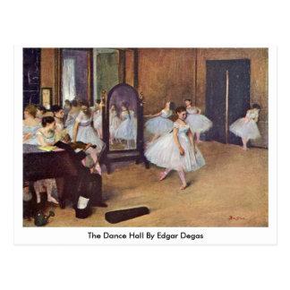 La danza pasillo de Edgar Degas Tarjetas Postales