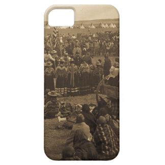 La danza que elige de los Blackfeet (sepia) iPhone 5 Cobertura
