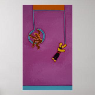 La danza sin esfuerzo 2007 póster