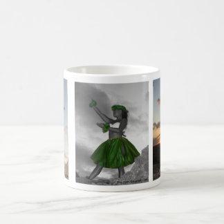 La danza taza de café