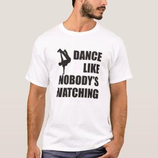 La danza tiene gusto de nadie que mira playera