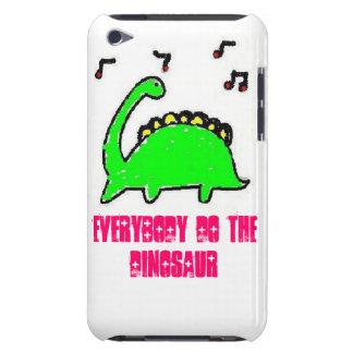 la danza, todos hace el dinosaurio funda Case-Mate para iPod