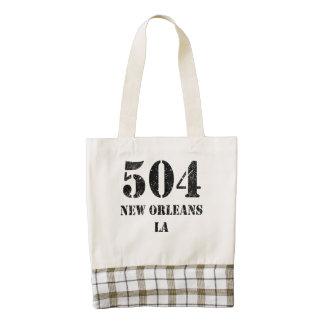 LA de 504 New Orleans Bolsa Tote Zazzle HEART