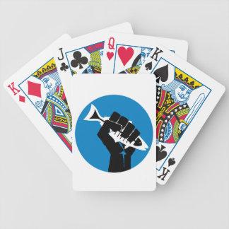 ¡LA de la toma por la tormenta Baraja Cartas De Poker