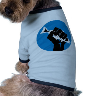 ¡LA de la toma por la tormenta! Camiseta De Perro