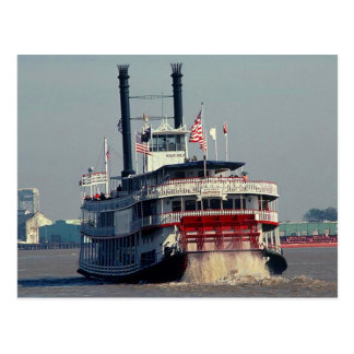 LA de Natchez New Orleans del vapor de paleta de l Tarjeta Postal