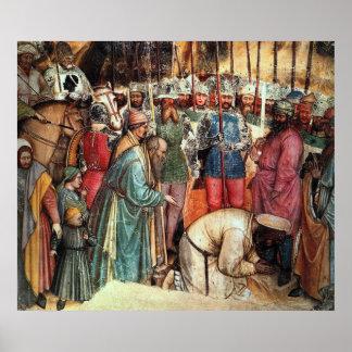 La decapitación de San Jorge Poster
