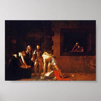 La decapitación de San Juan Bautista para el orato Impresiones
