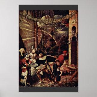 La decapitación de San Juan Bautista por Deutsch Posters