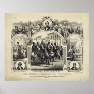 La décimo quinta enmienda constitucional y es resu póster